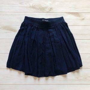Brandy Melville Navy Mini Skirt